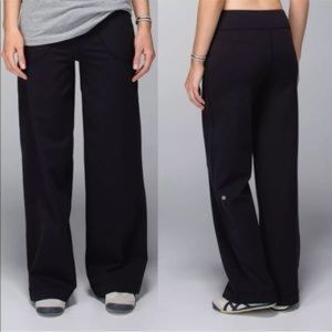 Lululemon sit in stillness pant black size 2